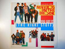 "MAXI 12"" POP 80s  ▒ NEW KIDS ON THE BLOCK : YOU GOT IT ( THE RIGHT STUFF )"