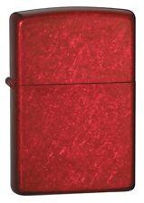Zippo Plain Candy Apple Red - Zippo 21063