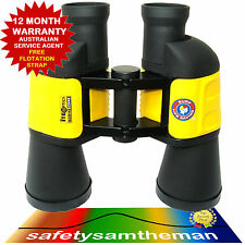 SURF LIFE SAVING MARINE WATERPROOF BINOCULARS 7X50 FIXED FOCUS FREE FLOAT STRAP