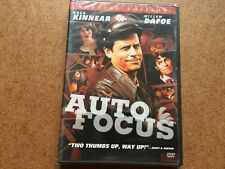 AUTO FOCUS DVD NEW & SEALED