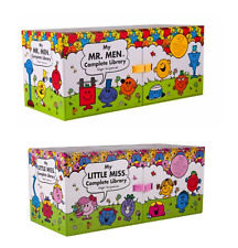 NEW Mr Men & Little Miss Complete Libraries Both Book Sets! *FREE SHIPPING*