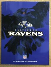 2018 Baltimore Ravens Official Team Yearbook - Mint - Free Shipping