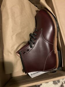 NEW RED WING HERITAGE BECKMAN 9011 MENS 8D CHERRY FEATHERSTONE BOOT 2nd