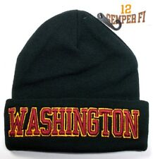 Washington Redskins Team Color 3D Direct Embroidered Beanie Knit Cap hat!