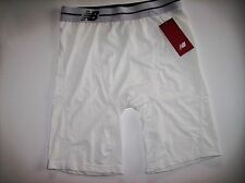 "New Balance Underwear Mens Performnc Compression Sport Brief 9"" Wht Sz Small NWT"