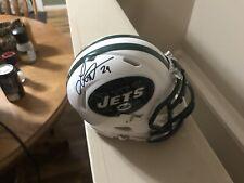 Leon Washington Autographed New York Jets Football Mini Helmet Florida State