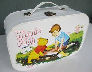 Vtg 1964 Ideal Toy Walt Disney Winnie the Pooh Carrying Case Great Shape!
