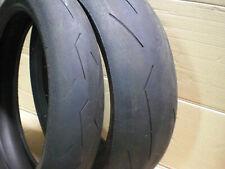 180-55-17 120-70-17  Pirelli Supercorsa anteriore + posteriore gomme usate treno