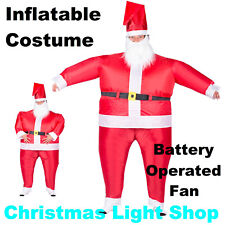 Inflatable SUMO SANTA Suit Unisex Adult Fancy Dress Up Christmas Party Costume