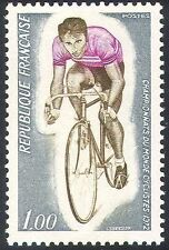 France Cycling Sports Postal Stamps