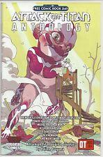 ATTACK ON TITAN ANTHOLOGY FCBD 2016 KODANSHA COMICS MANGA ANIME FREE BOOK DAY 1
