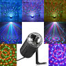 R&G Mini Projector DJ Disco KTV Laser Lighting Stage Light Party Show Plug Black