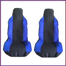 FORD FOCUS RS 09-10 FRONT SEAT COVERS RACING BLUE PANEL 1+1