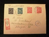 Deutschland  Alliierte Besetzung 19.05.1947 - Brief von Berlin - Kaiserslautern