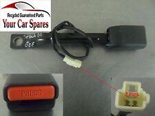 Suzuki Splash 5 Door Driver Side Front Seat Belt Buckle