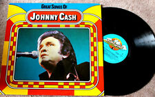"JOHNNY CASH ""Great Songs Of"" LP vermutlich Ende 70er, Country, nm/ex"