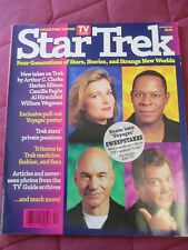 STAR TREK TV GUIDE COLLECTORS' EDITION 4 CAPTAINS SPRING 1995
