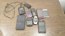 Lot of Assorted Cell Phones and Smart Phones for Parts/Repair