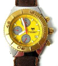 TechnoMarine Cruise-CG4 Yellow Dial Chronograph Watch