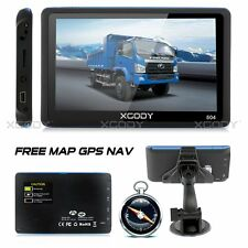 XGODY 5 Inch 8GB GPS Speedcam Free UK EU 3D Lifetime Maps SAT NAV Navigation FM