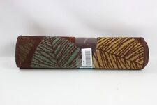 RugStylesOnline Rubber Collection Leaves Brown Multi-Col 4335407949 - New Other