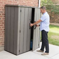 More details for lifetime garden storage cabinet waterproof tool shed xl size fast free delivery