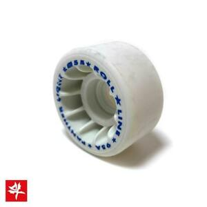 Roll-Line Panther 55mm Professional Light Freestyle Quad Skate Wheels - Cosmetic