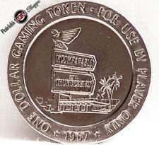 $1 SLOT TOKEN COIN THUNDERBIRD CASINO 1967 FRANKLIN MINT LAS VEGAS NEVADA RARE