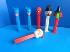 GROUP OF 6 VINTAGE PEZ CANDY CONTAINERS