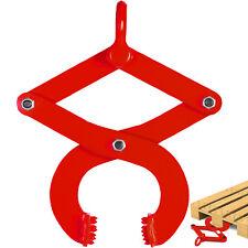 2200lbs Pallet Puller Clamp Pallet Grabber Material Handling Low Profile