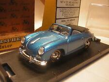 1/43 PORSCHE 356 speedster roadster 1950  BRUMM bleu