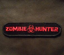 ZOMBIE HUNTER TAB OUTBREAK RESPONSE BLACK OPS RED VELCRO® BRAND FASTENER PATCH