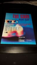 The Cure Mint Car Rare Original Radio Promo Poster Ad Framed!