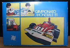 CAMPIONATO MONDIALE F.1 - GIOCHI ADRIANO - GIOCO DA TAVOLO VINTAGE ANNI '70 RARO