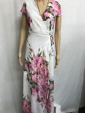Wrap Maxi Dress Floral Size 14