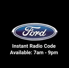 Radio FORD Code Déverrouillage 3000-4000-5000-6000 Radio CD perdu code