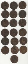 More details for collection of victoria one penny coins | pennies2pounds (vp1)