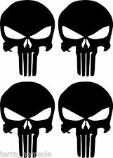 PUNISHER SKULL AIRSOFT COMBAT WEAPON  Funny Car Van Truck 4X4 Sticker AI2