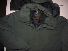 BROWNING GORE-TEX Men's  HOODED GREEN Jacket LARGE T464