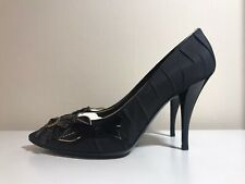Rare Louis Vuitton Black Pumps Heels UK4 Us5.5 Eu36.5