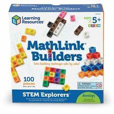 Learning Resources LER9294 MathLink Builders-STEM Explorers