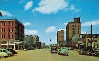 Postcard Greensboro Avenue, Looking North in Tuscaloosa, Alabama~126112