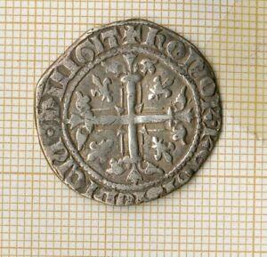 Robert d'Anjou  1309-1343 Provence carlin d'argent, ex. plaisant et bien lisible