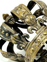 Couronne de Saint & Monarchie de Droit Divin & Fleur de Lys & XVIII e ou XIX e