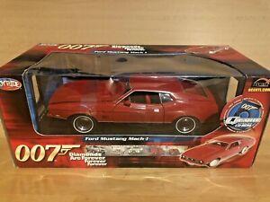Ertl Joyride 33848 James Bond Mustang Mach 1 Diamonds Are Forever 1:18 Scale