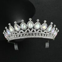 Luxury Color Crystal Bridal Tiaras Crowns Headbands Wedding Hair And Accessories