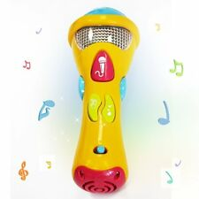 Kids Music Karaoke Microphone Toy Wishtime Toddler Singing Recorder Music Light