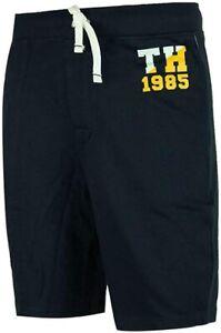 Tommy Hilfiger Cl/ásico Logo Masculino Jersey Lounge Shorts Navy