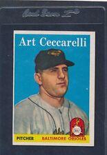 1958 Topps #191 Art Ceccarelli Orioles EX 58T191-82715-1
