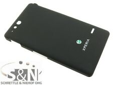 Original Sony Xperia Go st27i Tapa batería Tapa carcasa tapa negro